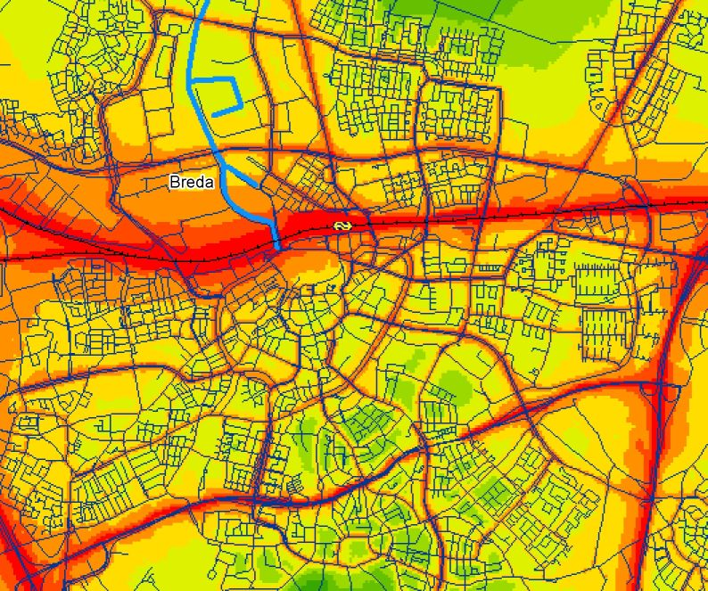 Noise Maps For The Netherlands